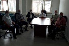 CHP Rize İl Bşk. Deniz'den Muhtarlara Ziyaret