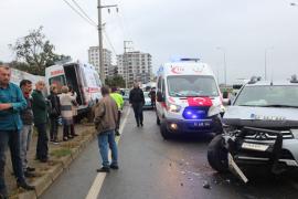 Rize'de Ambulans Kaza Yaptı: 4 Yaralı