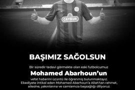 Çaykur Rizespor'un Eski Futbolcusu Hayatını Kaybetti