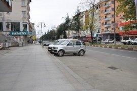 Rize Genelinde Cadde ve Sokaklar Sakin