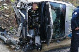 Rize'deki Kaza 4 Kişi Yaralandı