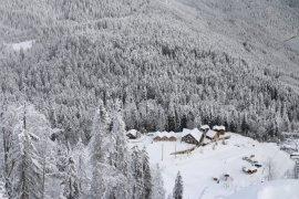 Atabarı Kayak Merkezi Hafta Sonu Doldu Taştı