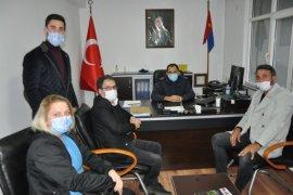 CHP İl Bşk. Saltuk Deniz'den Ardeşen'de Ziyaretler