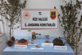 Rize'de Jandarma Suça Geçit Vermiyor