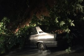 Şiddetli Yağış Rize'de Etkili Oluyor