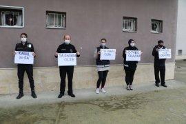 Rize'de Güvenlik Görevlileri Süreklilik İstiyor