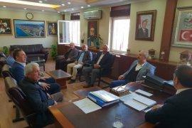 Ardeşen Vakfı'ndan Kaymakam Alibeyoğlu'na Ziyaret