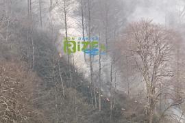 Tunca Beldesi'ndeki Yangın Söndürülemedi