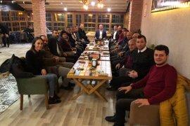 ATSO Bşk. Kuyumcu Gazetecilerin Gününü Kutladı