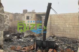 Rize'de 6 Yayla Evi Kundaklandı