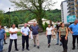 Kars Eş Bld Başkanlarından Fındıklı'ya Ziyaret