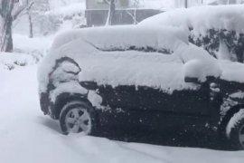 Rize'de Kar Etkisini Sürdürüyor