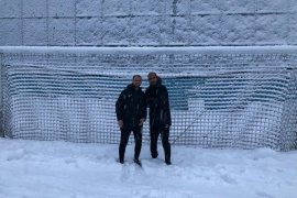 Rize'de Futbola Kar Engeli... Pazarspor Maçı Ertelendi