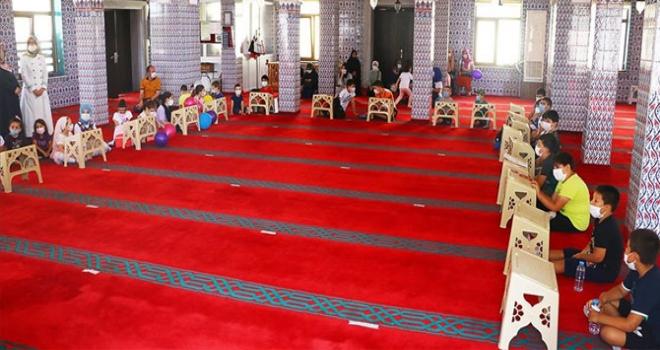 Kur'an Kurslarında Yüz Yüze Eğitim Başladı