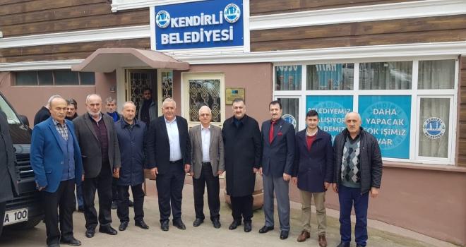 Hasan Karal Kendirli Belediyesi'ne Ziyaret Etti