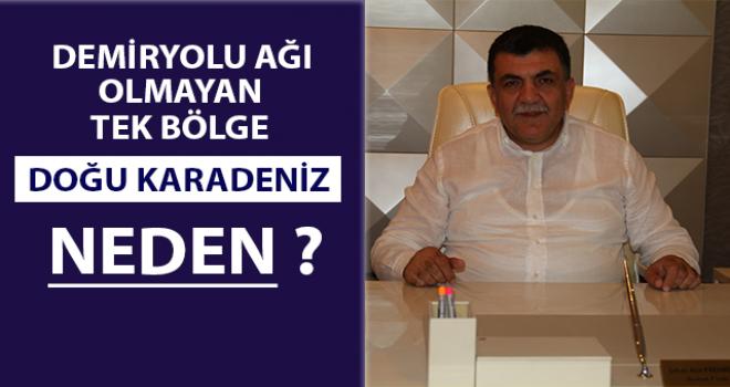 RTSO Bşk. Karamehmetoğlu: Sarp'a Kadar Demiryolu Olmalı