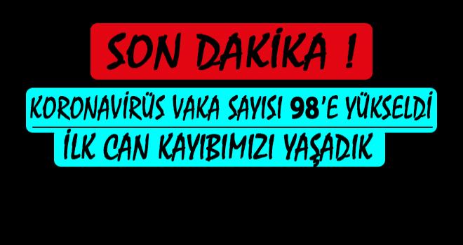 Türkiye'de Koronavirüsten İlk Ölüm Haberi Geldi