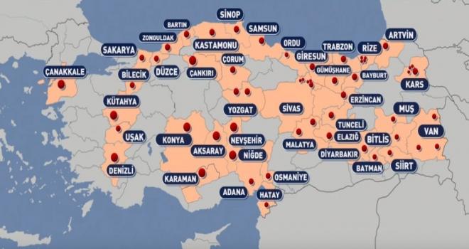 Türkiye'de Karantinalı Yerlerin Sayısı Artıyor