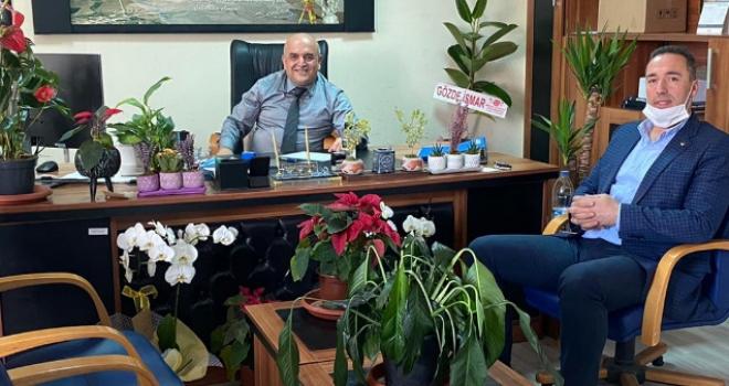 İsmail Kuyumcu'ndan Halil Üstündağ'a Ziyaret