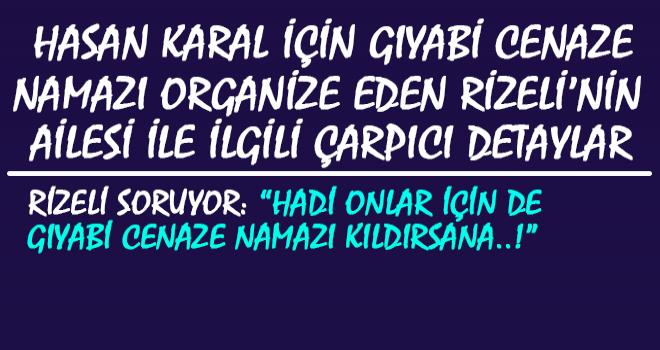 Hasan Karal'ı Protesto Eden Rizeli'nin Ailesi...