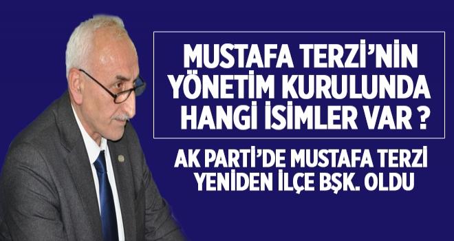 Mustafa Terzi'nin Yönetiminde Kimler Var ?