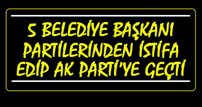 İşte AK Parti'ye Geçen Belediyeler...