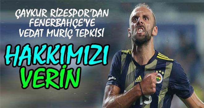 Rizespor ile Fenerbahçe'nin Vedat Anlaşmazlığı