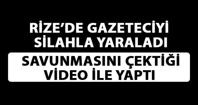 Rize'de Gerçekleştirdiği Saldırıyı Video İle Savundu