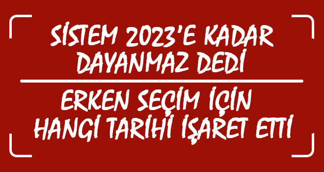 2021'de Olası Seçim İhtimali Daha Yüksek