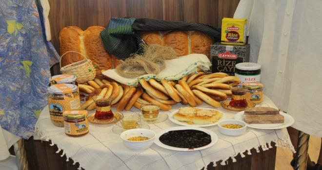 Rize'nin Ürünleri Ankara'da Sergilendi