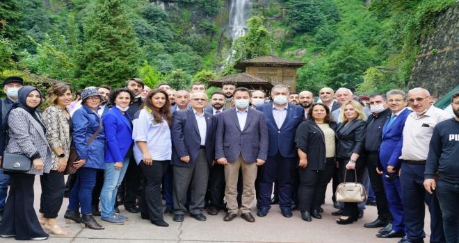 Deva Partisi Genel Bşk. Ali Babacan Rize'de