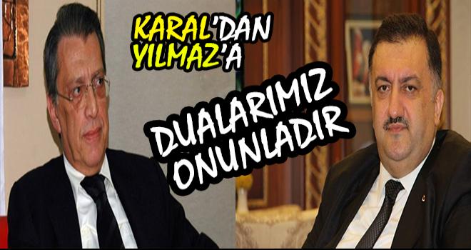 Hasan Karal'dan Mesut Yılmaz Mesajı