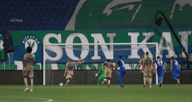 Rizespor Lige Fenerbahçe Yenilgisiyle Başladı