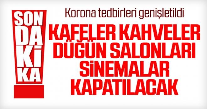 Türkiye Alarmda... Korona Tedbirlerini Genişletildi