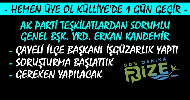 AK Parti'den Kendi İlçe Başkanına Soruşturma
