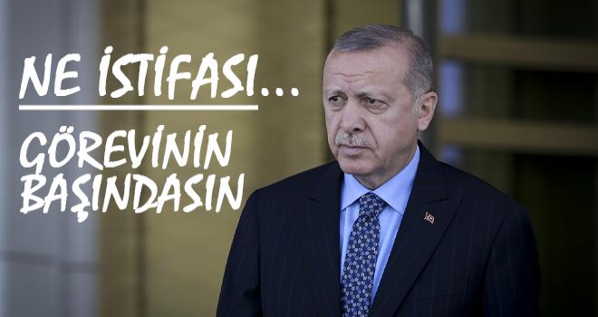 Erdoğan, Soylu'nun İstifasını Kabul Etmedi