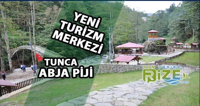 Tunca Abja Piji Tesislerine Ziyaretçi Akını