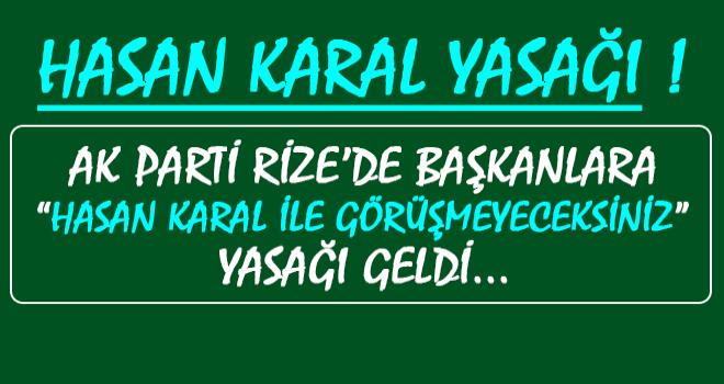 AK Parti'nin Hasan Karal Yasağı Tepki Topluyor