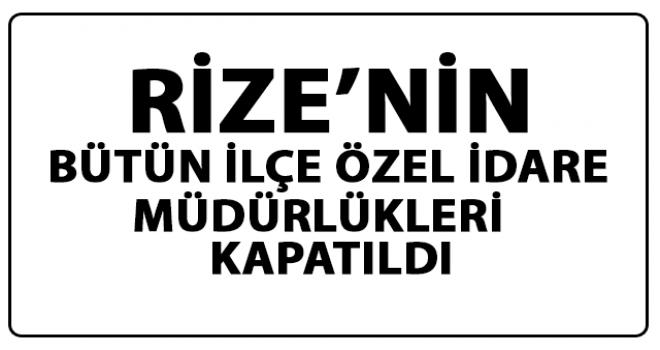 Rize İl Genel Meclisi Türkiye'de Bir İlki Gerçekleştirdi