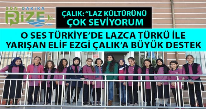 Rize Gelini Elif Ezgi Çalık Lazca Türkü İle Yarıştı