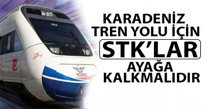 Rize'nin En Güçlü STK'sından Tren Yolu Çağrısı