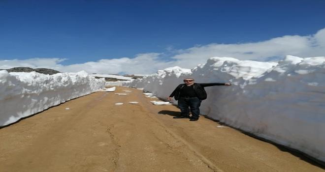Rize'de Mayıs Ayında 2 Metre Kar