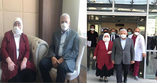 Yıldırım Çiftinden Hastane Çıkışı İlk Fotoğraflar