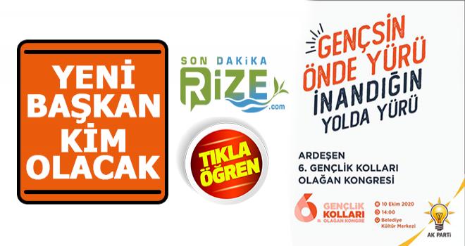 AK Parti Ardeşen Gençlik Kolları Bşk. Kim Olacak?