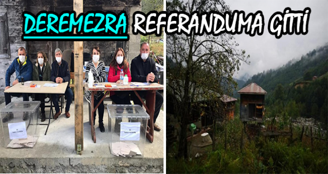 Deremezra, Köy Olmak İçin Referanduma Gitti