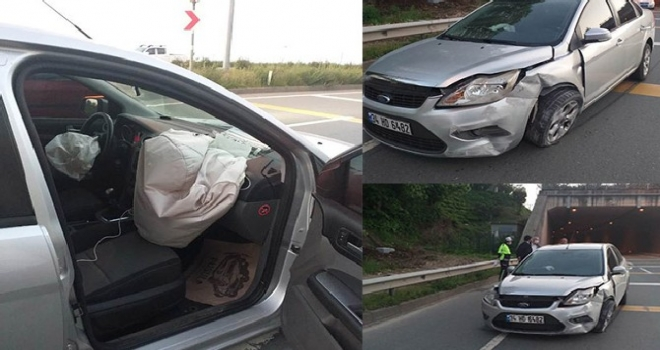 MHP Rize İl Bşk. Trafik Kazası Geçirdi