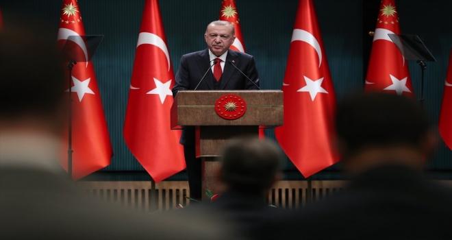 Erdoğan: Tüm İş Yerleri 22.00'da Kapanacak