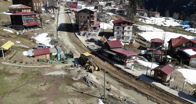 Ayder'de Dönüşüm Altyapı Yol Çalışmaları İle Başladı