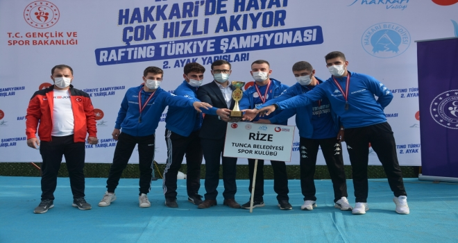 Tunca Bld. Rafting Takımı Türkiye İkincisi Oldu