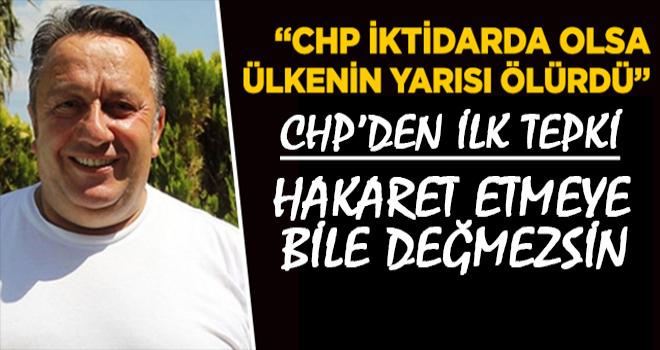 CHP Rize'den İsmail Türüt'e Sert Cevap